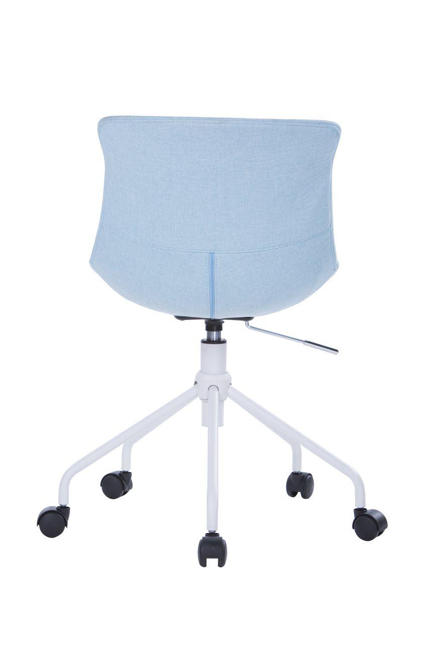 Cadeira Giratória Revestida em Linho