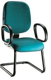 Cadeira Recepção Diretor Tradicional - Pés em S  - Tinay Móveis Ltda
