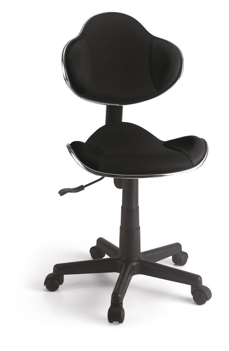 Cadeira Secretária em tela Preta