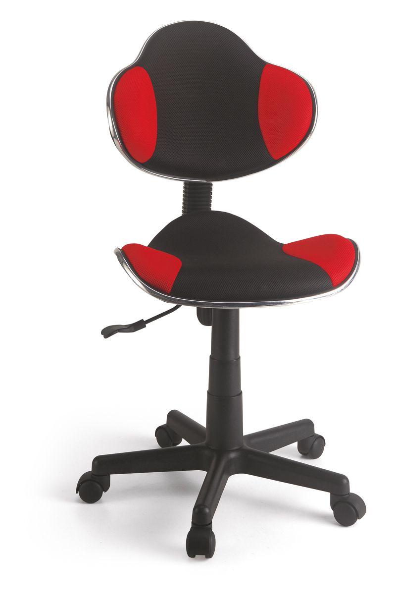 Cadeira Secretária em tela Vermelha  - Tinay Móveis Ltda