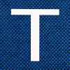 Tecido J.Serrano Azul/Preto 1010