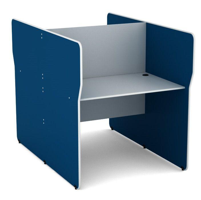 Mesa para Estação de Trabalho Dupla  para 2 Lugares - Linha Light  - Tinay Móveis Ltda