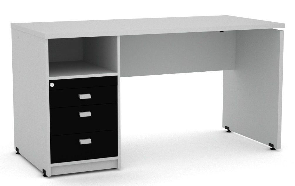 Mesa com Arquivo para Pasta Suspensa - Arena  - Tinay Móveis Ltda