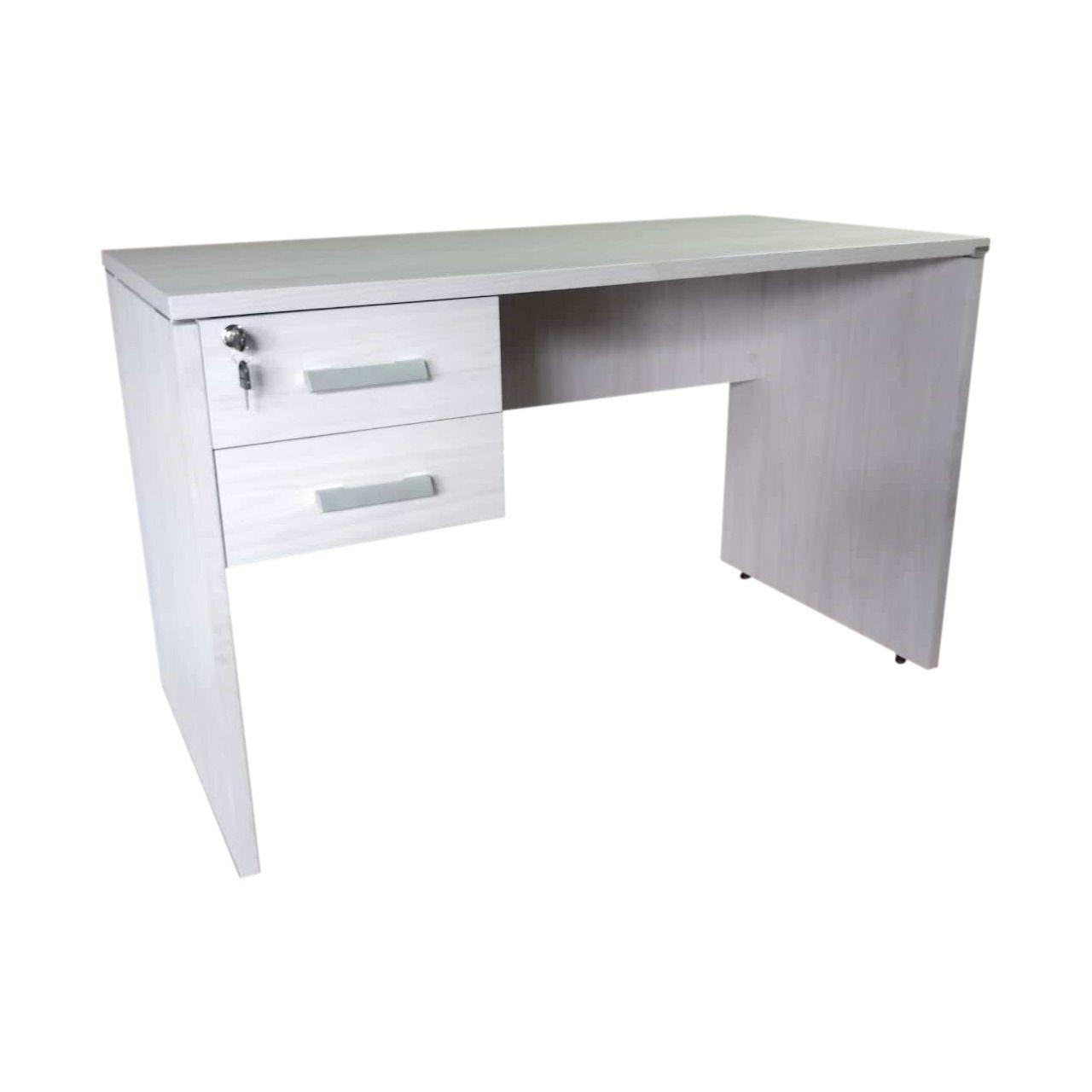 Mesa de Escritório com Tampo de 25 mm com Gavetas - Prima  - Tinay Móveis Ltda