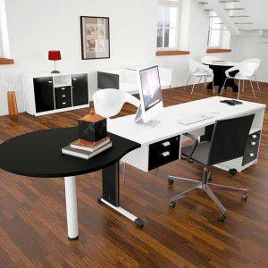 Mesa e Gaveteiro para Escritório MD1 - Arena  - Tinay Móveis Ltda