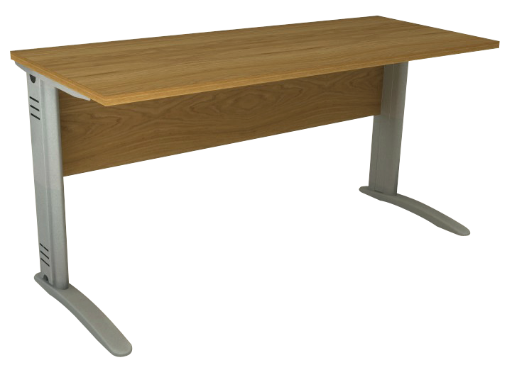 Mesa Reta de 18 mm e 60 cm de Profundidade - Saia de Madeira - Impéria Premium  - Tinay Móveis Ltda