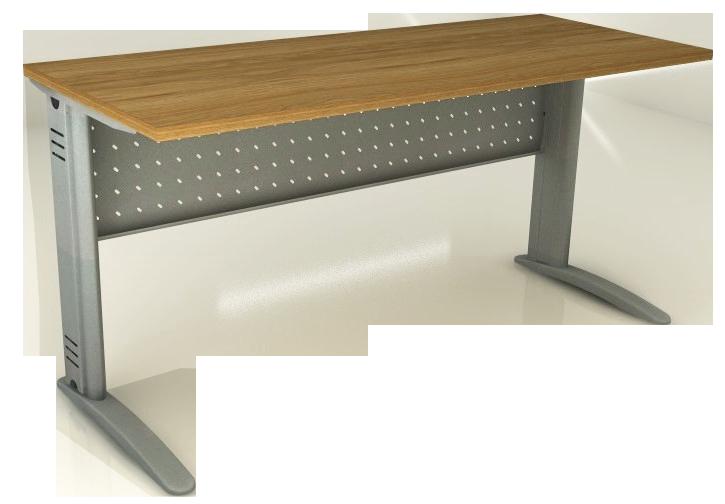 Mesa Reta de 18 mm e 60 cm de Profundidade - Saia de Aço - Impéria Premium  - Tinay Móveis Ltda