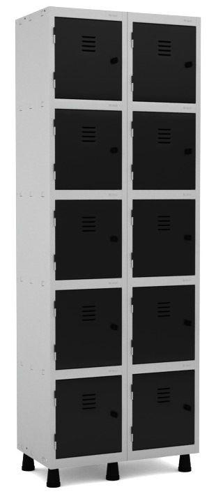 Roupeiro 10 Portas Pequenas - Pandin  - Tinay Móveis Ltda