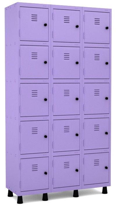 Roupeiro 15 Portas Pequenas - Pandin  - Tinay Móveis Ltda