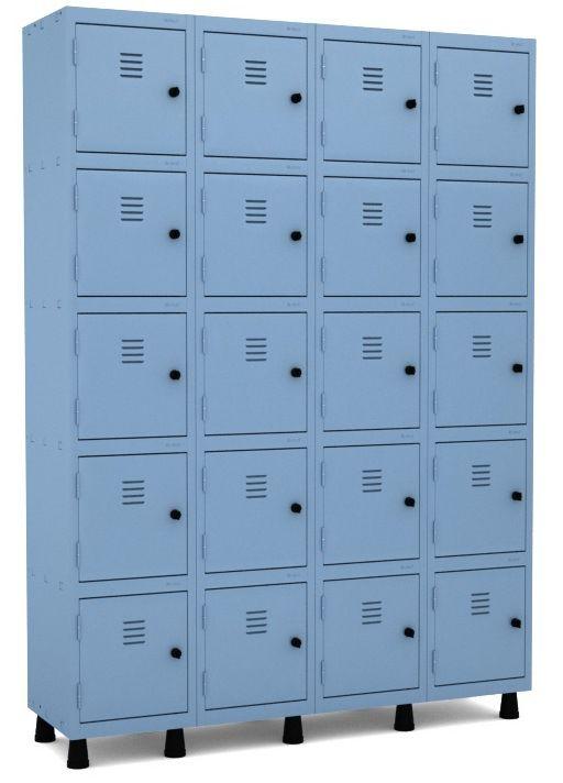 Roupeiro 20 Portas Pequenas - Pandin  - Tinay Móveis Ltda
