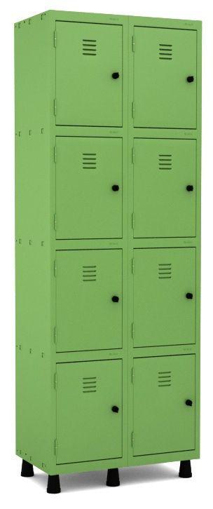 Roupeiro 8 Portas Pequenas - Pandin  - Tinay Móveis Ltda