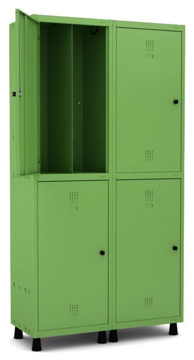 Roupeiro Insalubre 4 Portas - Pandin  - Tinay Móveis Ltda
