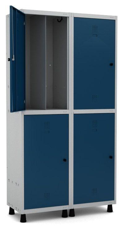 Roupeiro Insalubre 4 Portas - Pandin