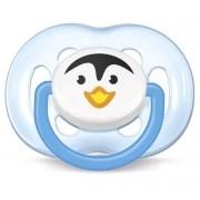 Chupeta Bico Avent FreeFlow - Pinguim - 6 a 18m