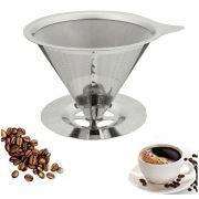 Coador Filtro de Café Pour Over em Aço Inox Tam. 103