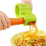 Cortador/Fatiador de legumes Duplo + Afiador de Facas