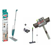 Kit com Mop Spray com reservatorio Flash Limp + Mop Vidro Clean