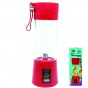 Mini Liquidificador portátil Shake - Recarregável USB - Juice Cup - 6 Lâminas