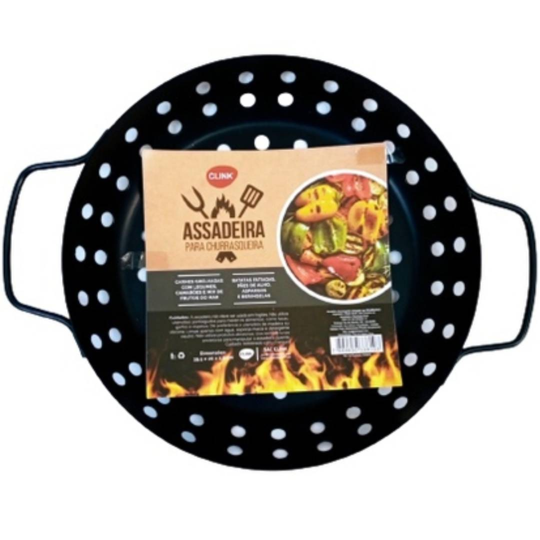 Assadeira churrasqueira grill red metal