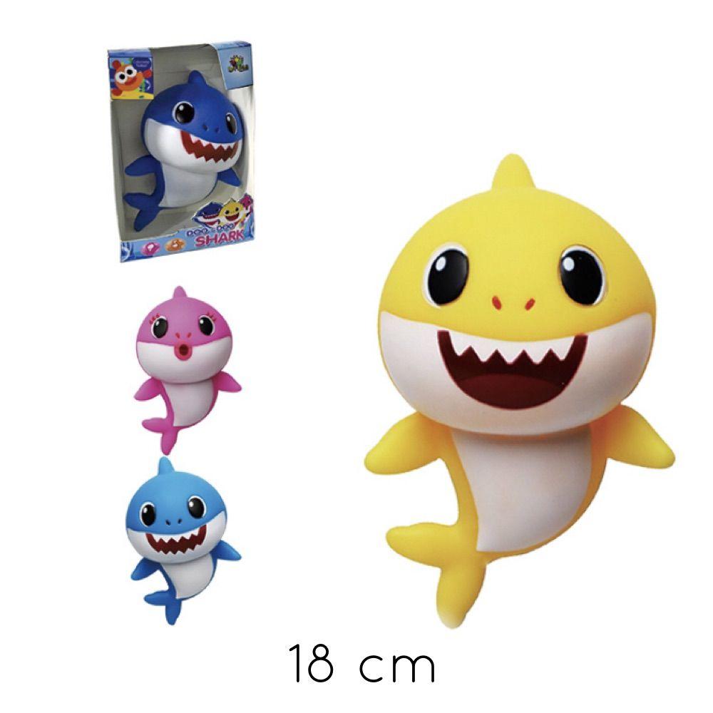 Brinquedo Doo Doo Shark Musical 18CM Azul
