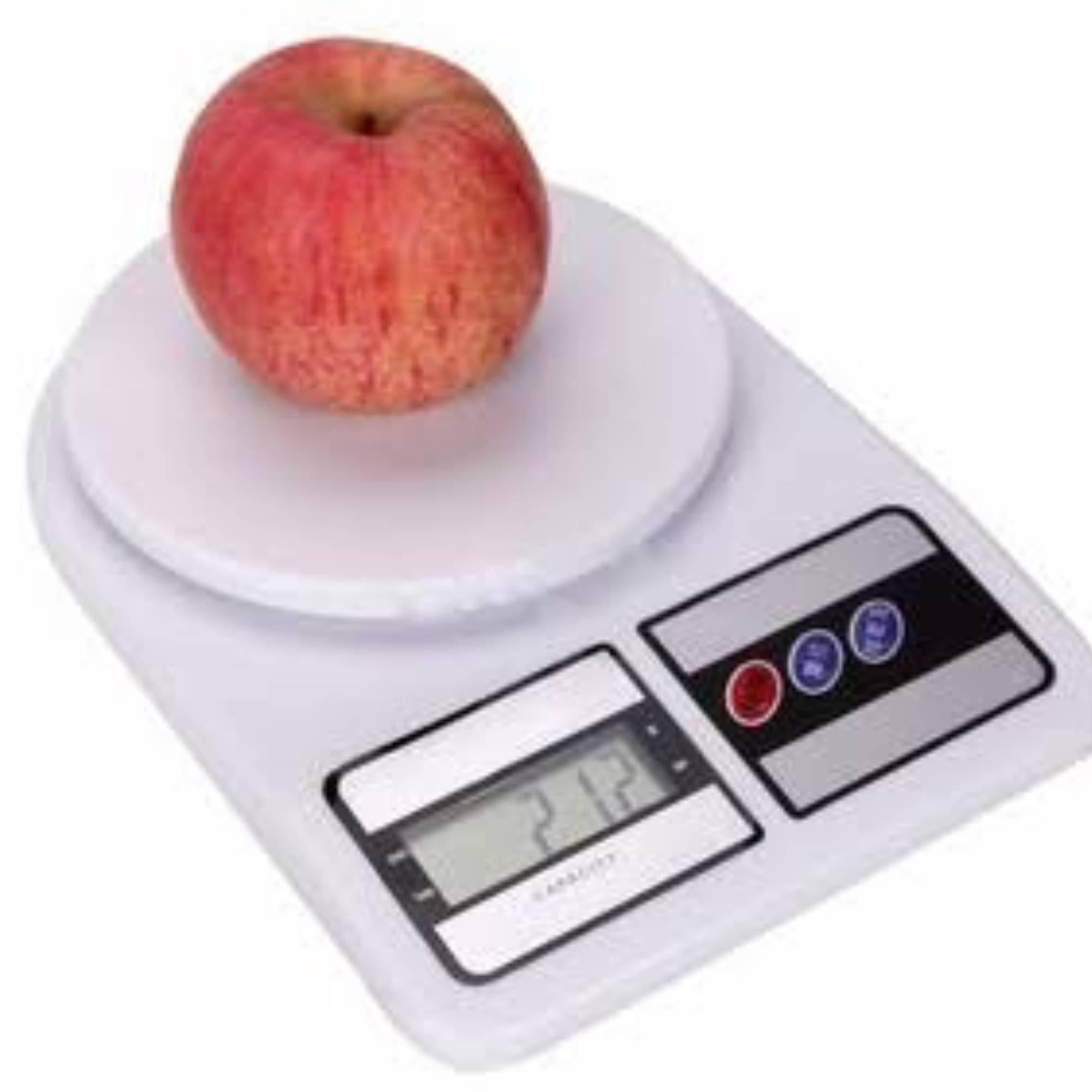 Balança de Cozinha Digital Alta Precisão 10 Kg Dieta e Nutrição