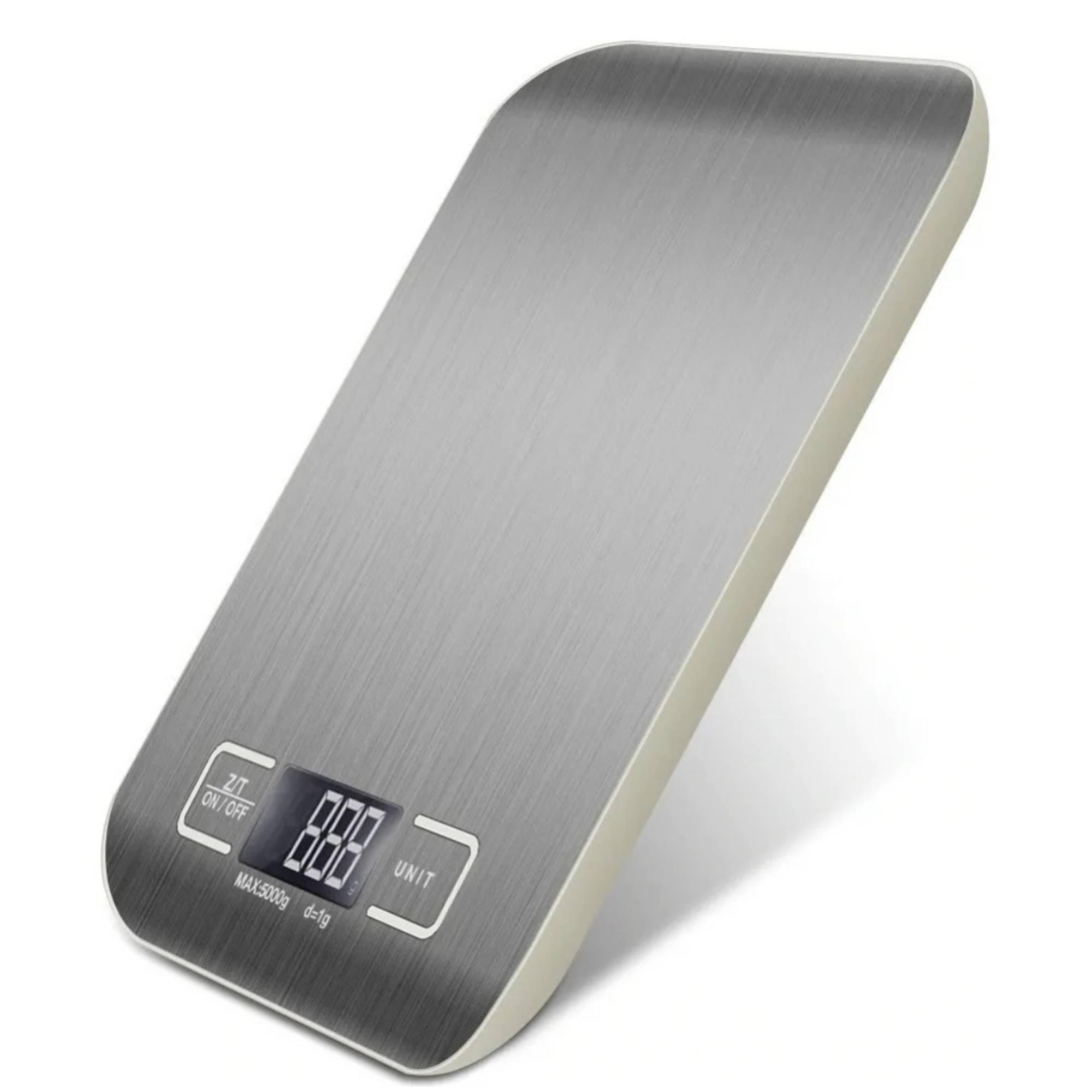 Balança Digital de Cozinha 5kg Inox Unique