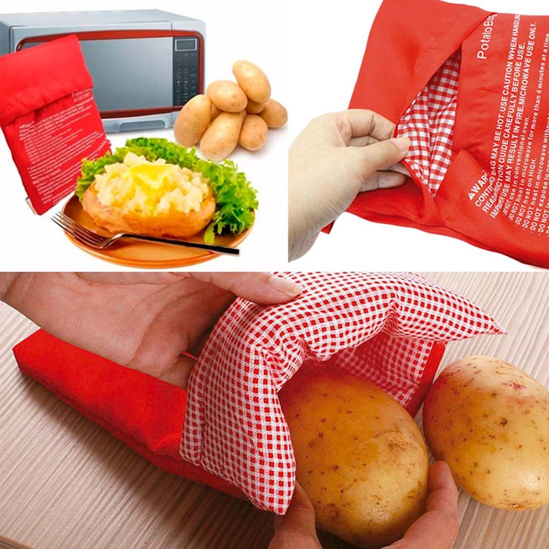 Bolsa para Microondas - Saco assar batatas