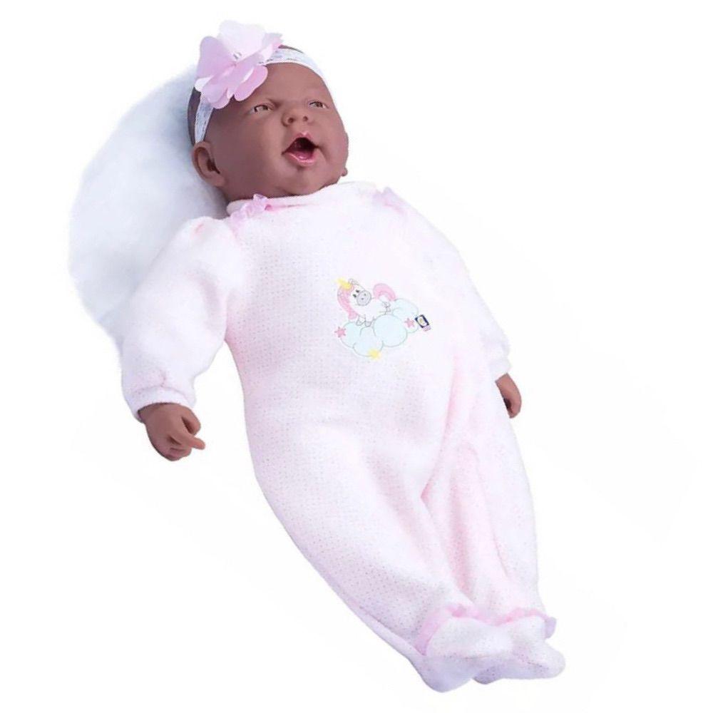 Boneca Bebê Reborn Realista Coleção Menina Negra - 50cm