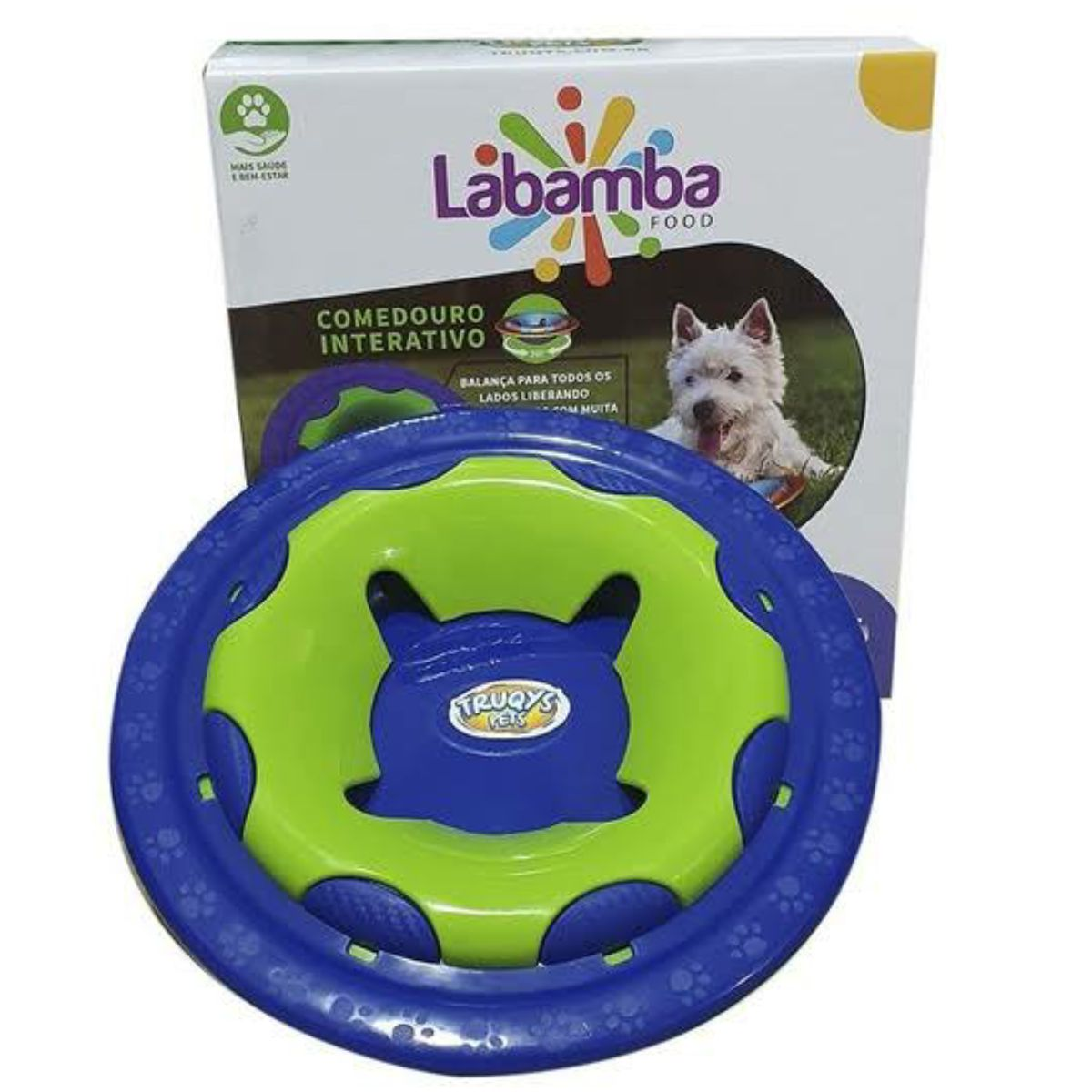 Brinquedo Pet Educativo Labamba Food