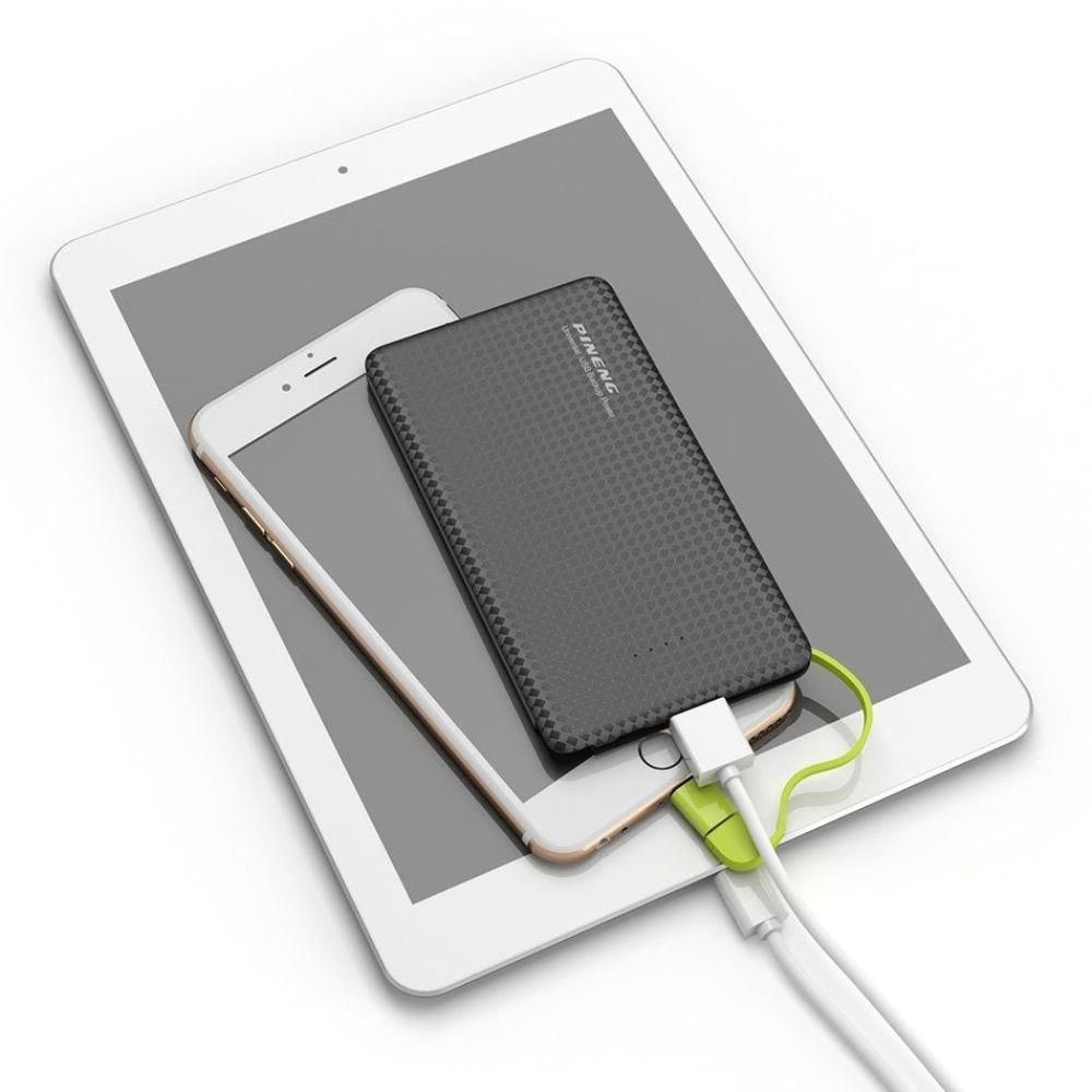 Carregador Portátil Power Bank SLIM Pineng 5000 Mah - Original