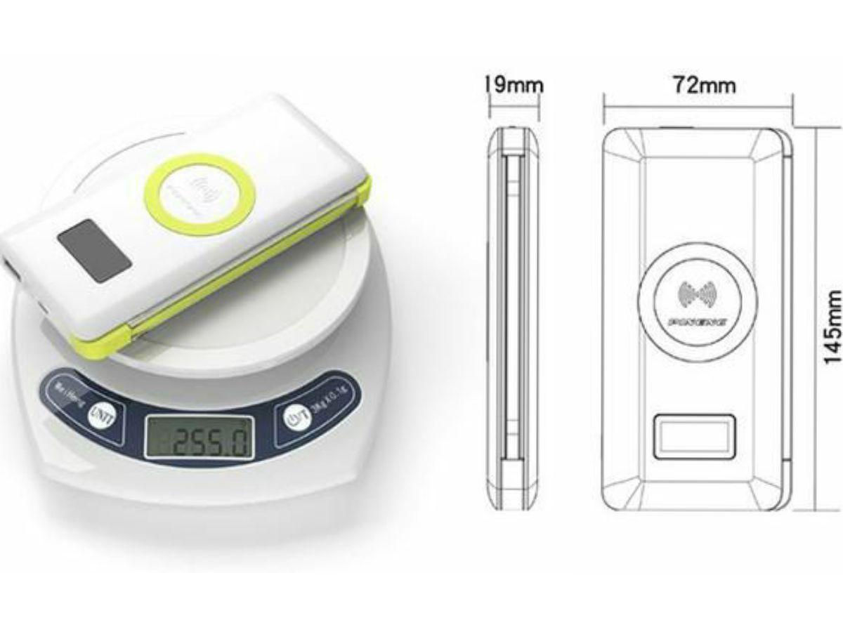 Carregador Portatil Wireless Indução 10.000mah - USB 3.0