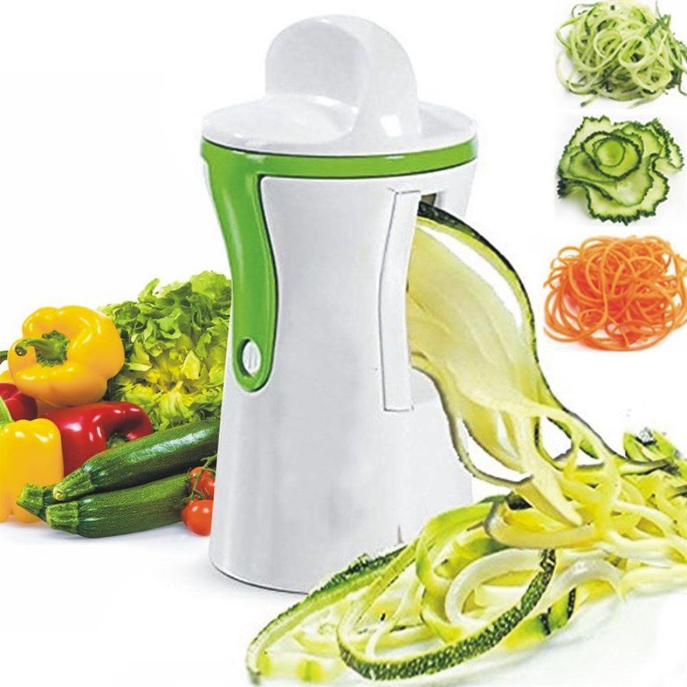 Cortador/Fatiador de Legumes Espiral c/ Protetor