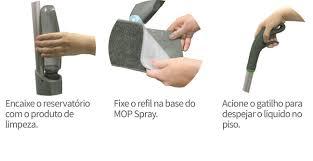 Esfregao Spray Mop Rodo Reservatorio