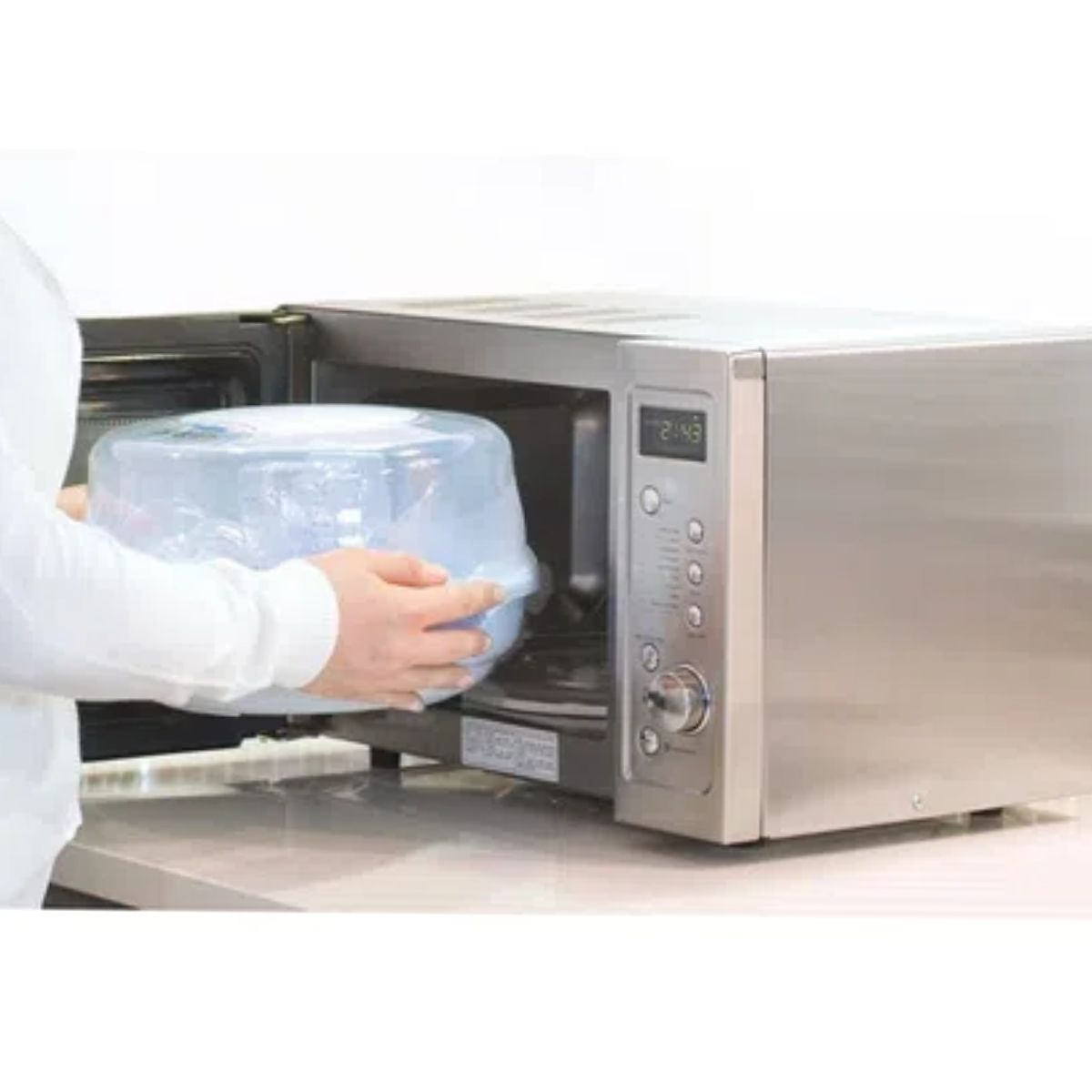 Esterilizador De Mamadeira Vapor Microondas Avent