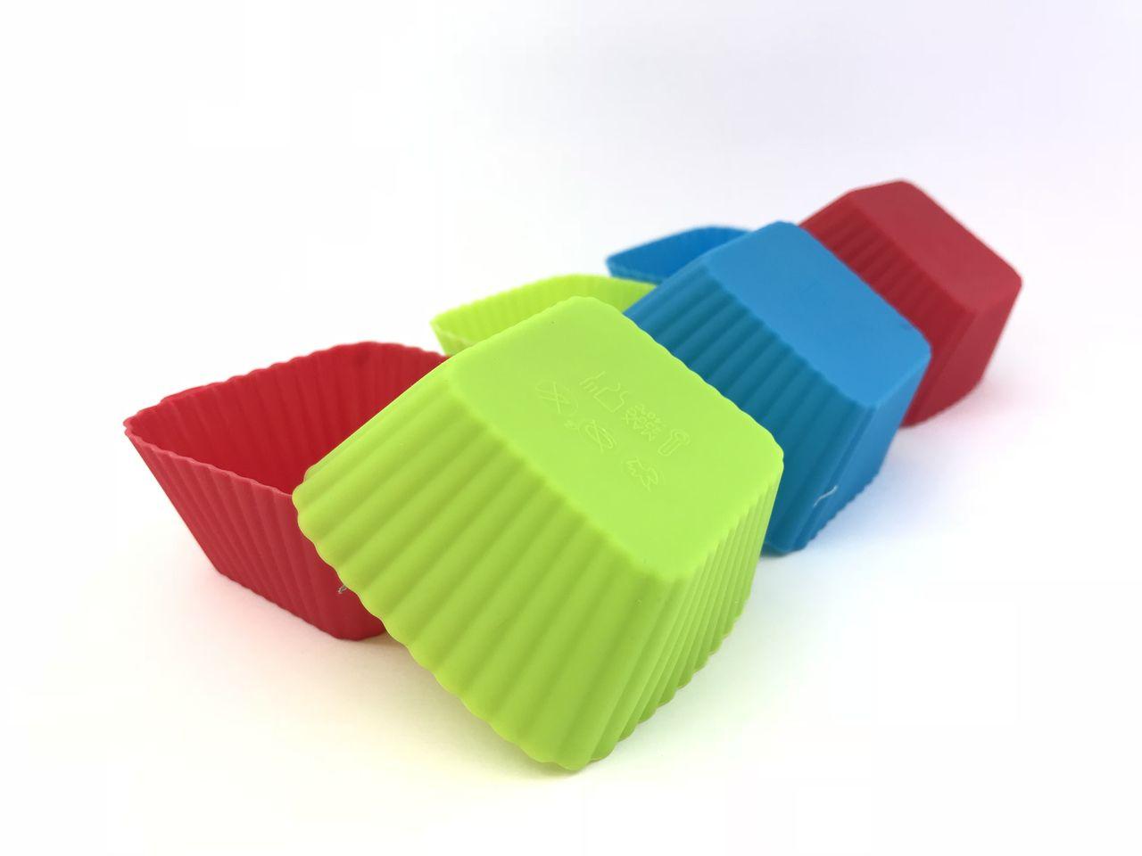 Forma Cupcake Antiaderente Em Silicone - Conj. 06 pçs