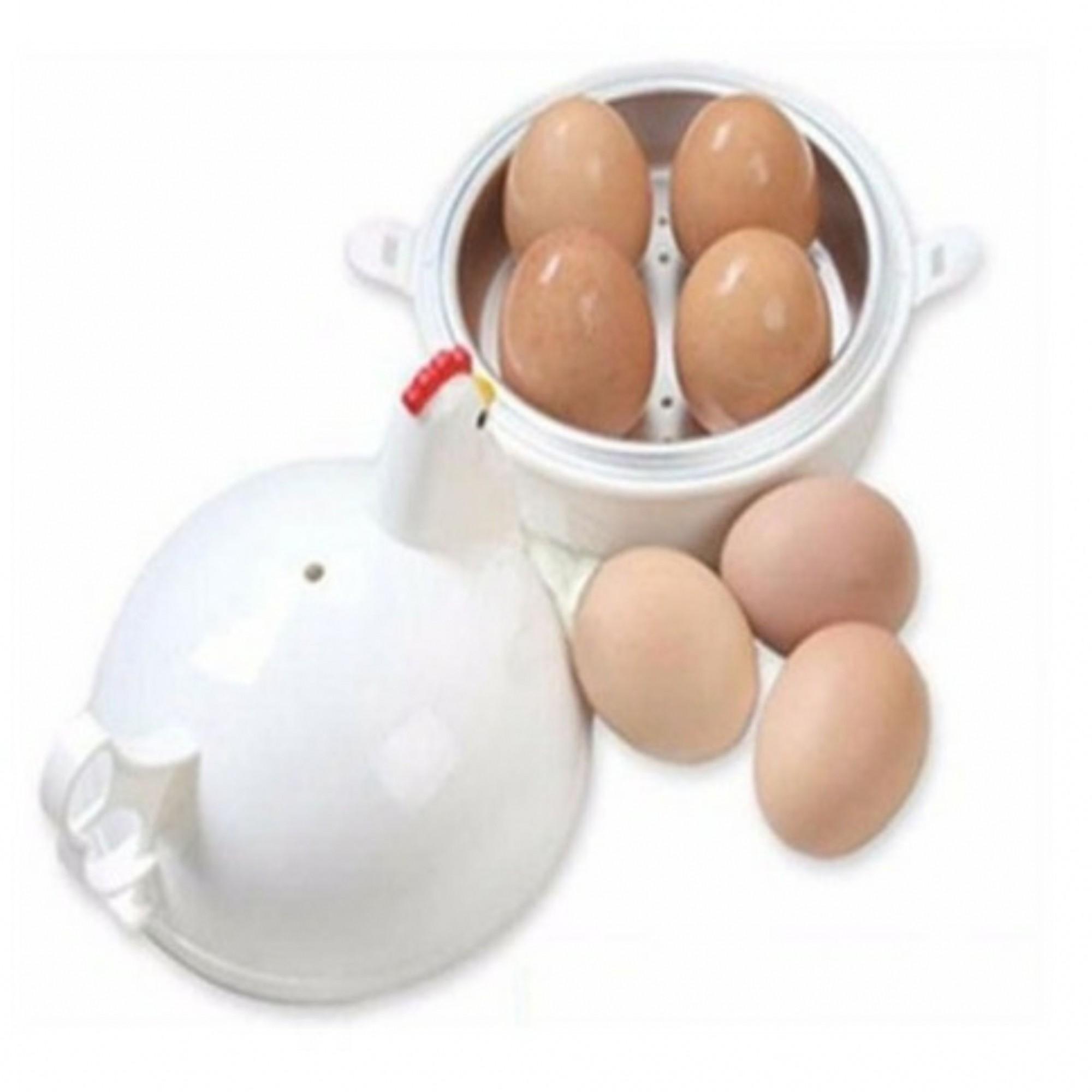 Galinha para cozinhar ovos no Microondas - Boiled EGG