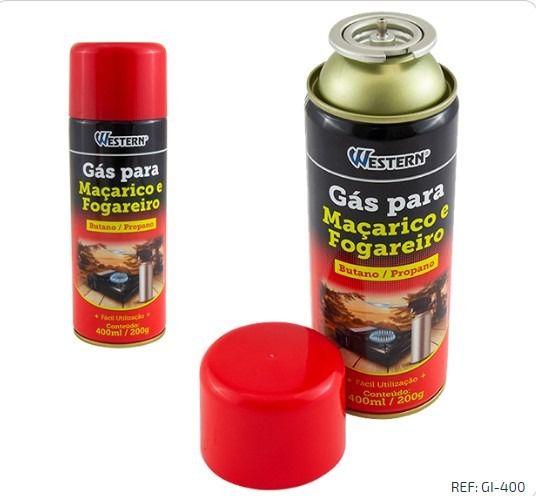 Gás para Maçarico/isqueiro 400ML/200G