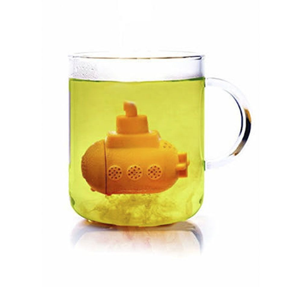 Infusor de Chá Silicone - SUBMARINO