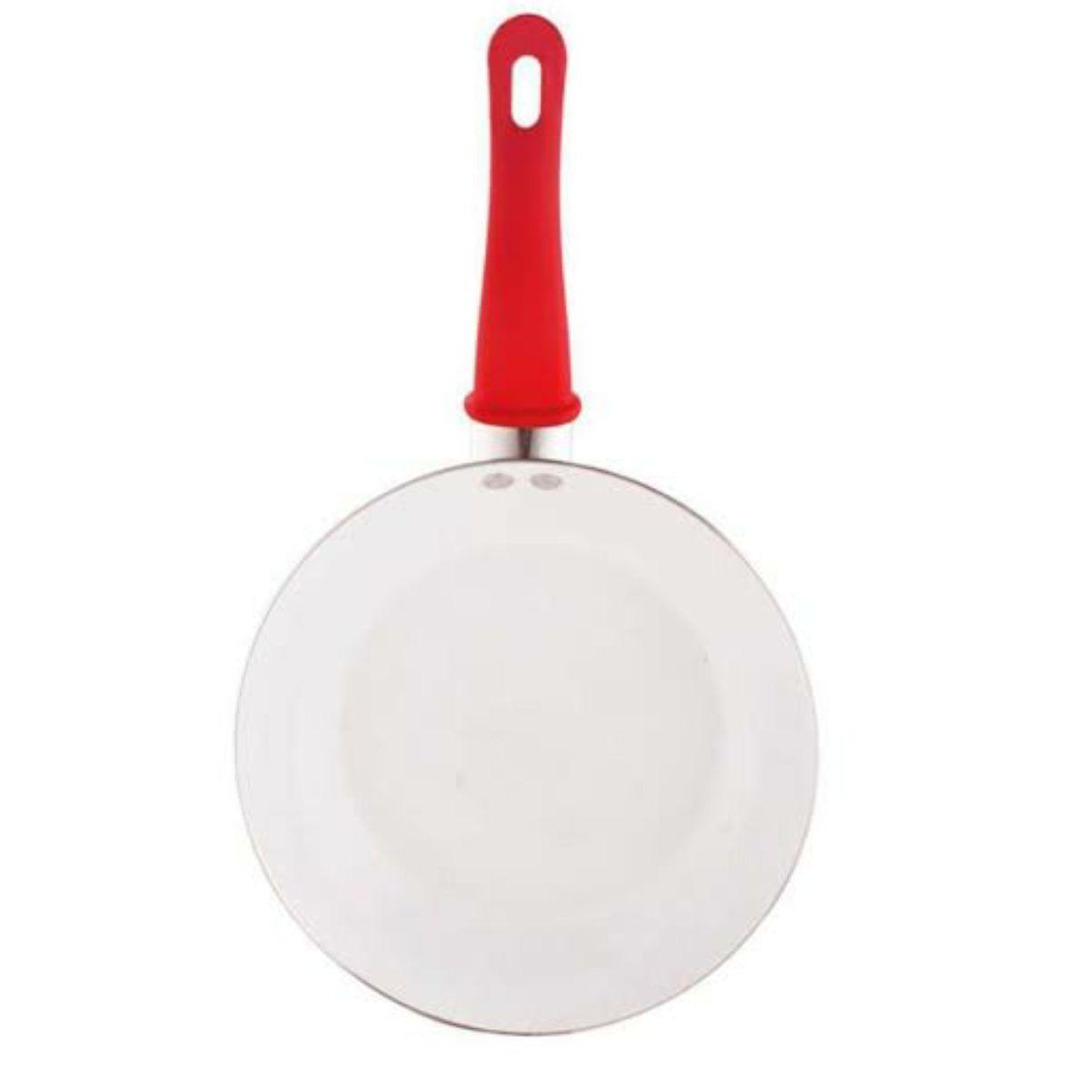 Jogo De Panelas Aluminio 4pcs Vermelho Revest. Ceramico