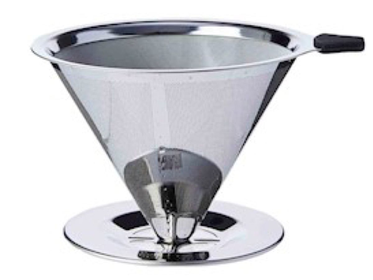 Kit 02 Filtro De Cafe Inox Reutilizável - Original