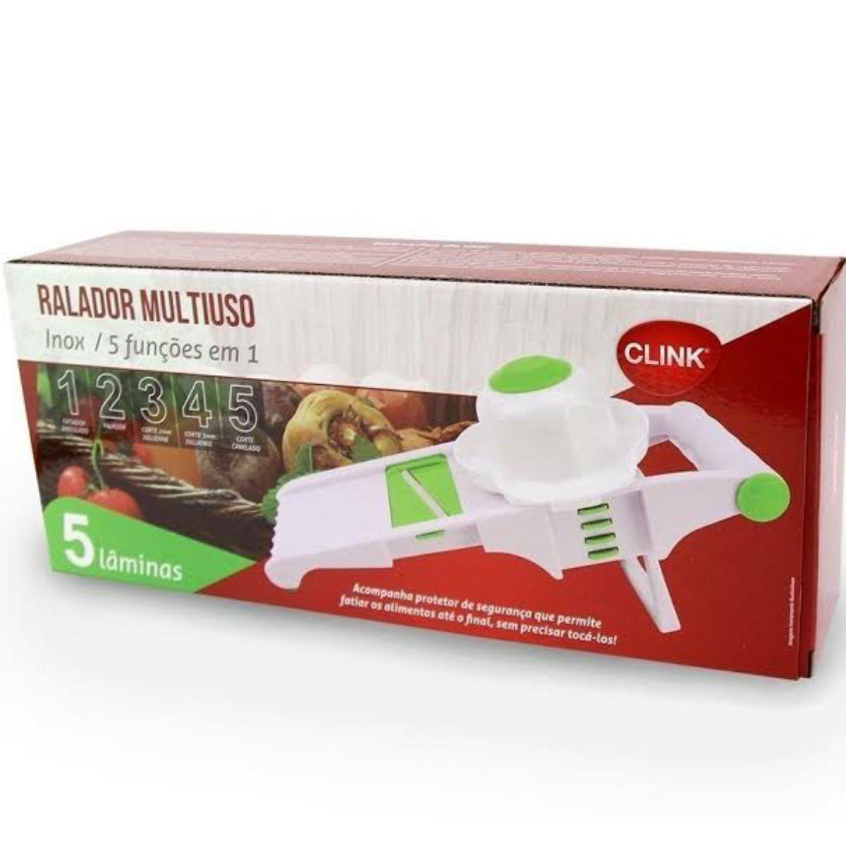 Kit Ralador Multiuso 5 em 1 - 5 Laminas