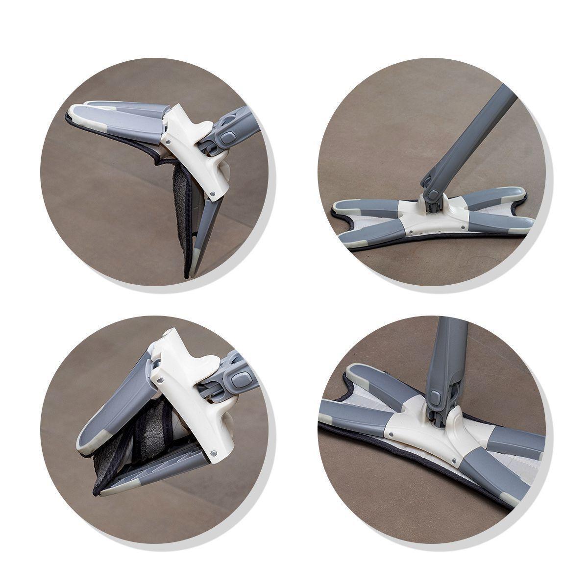 Kit Vassoura Mágica 3x1 e Xmop com torção