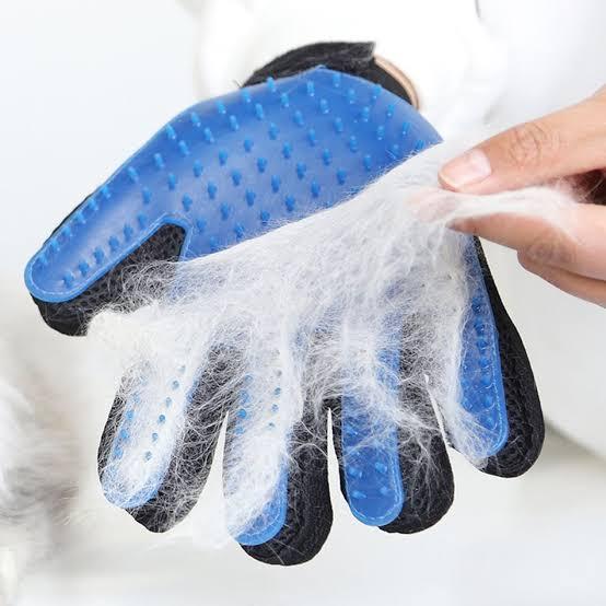 Luva/Escova de Limpeza Tira Pelos Pet