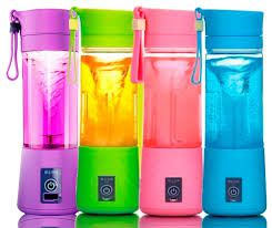 Mini Liquidificador portátil Shake - Recarregável USB - Juice Cup
