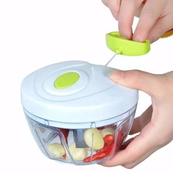 Mini Processador Manual de Alimentos