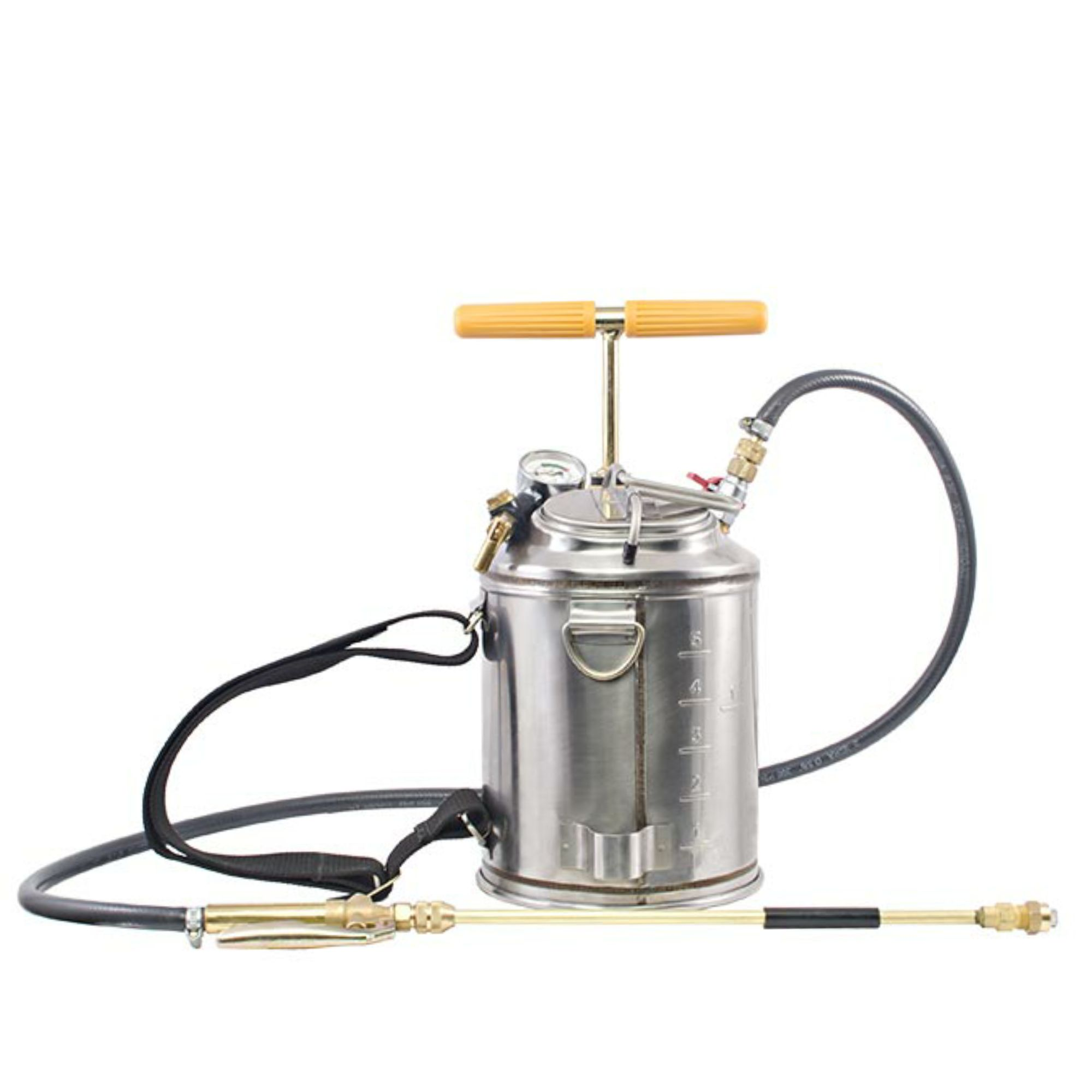 Pulverizador Costal de compressão prévia Inox Super 2S- 7,6l - Guarany