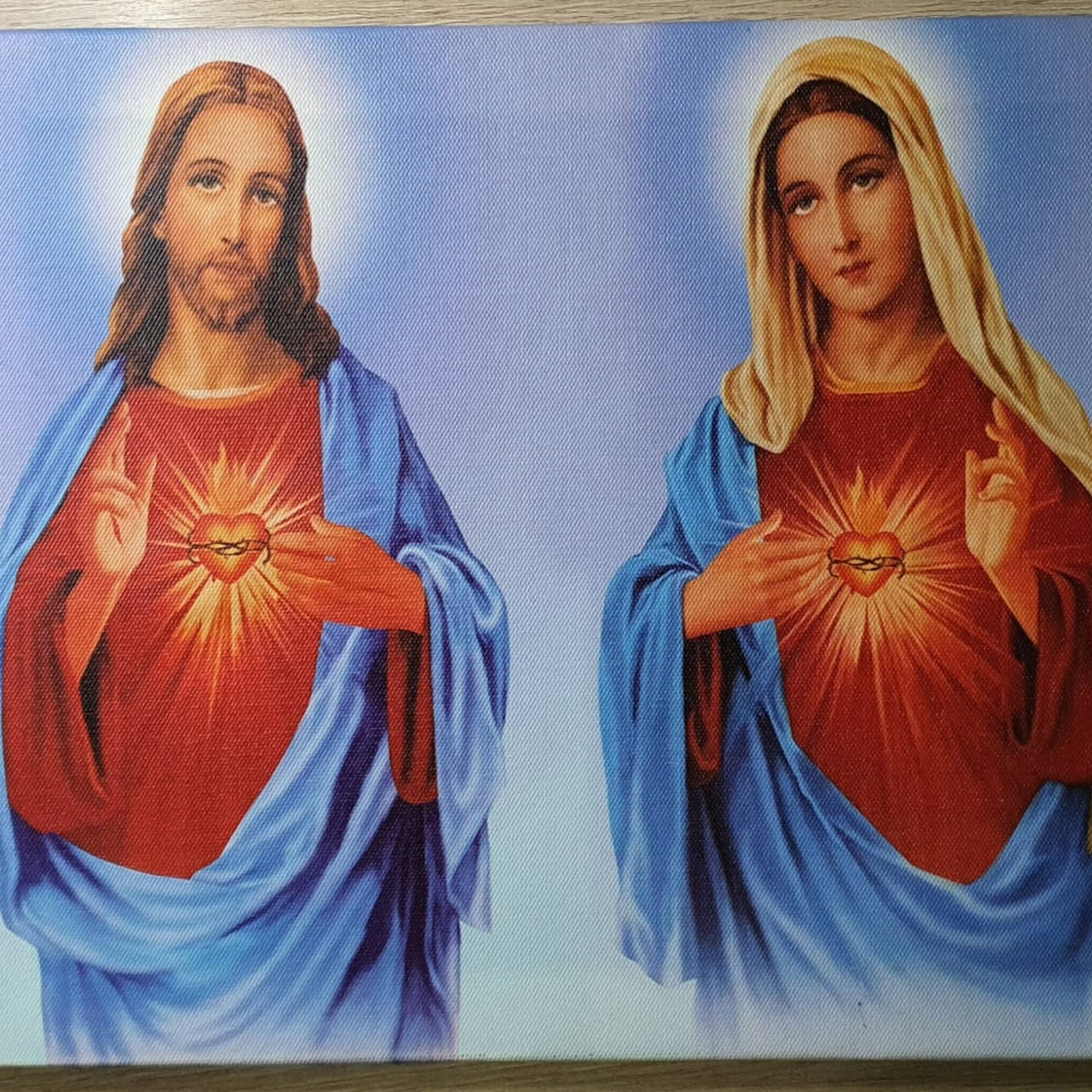 Quadros Religiosos com Iluminação - Várias Estampas