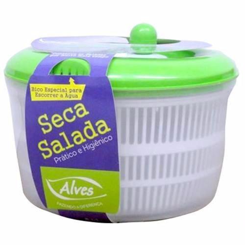 Seca Saladas Centrífuga Secador De Folhas 4,5l e Mini Processador Manual