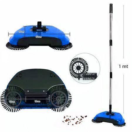 Vassoura Magica Mop 3x1 - Kit com 02 Unidades