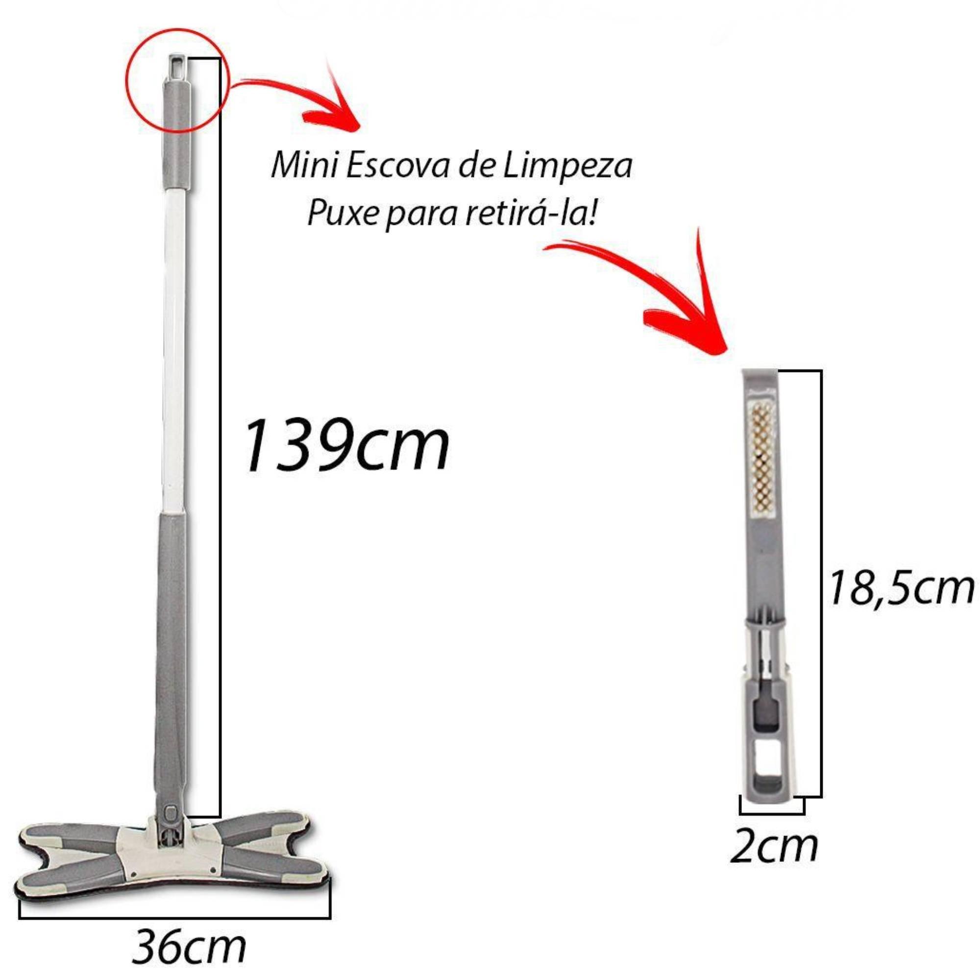 Xmop com Extrusão/Torção Manual - 360graus